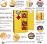 Hamilton Australia is now an authorised distributor of the world leading Justrite brand of dangerous goods storage cabinets